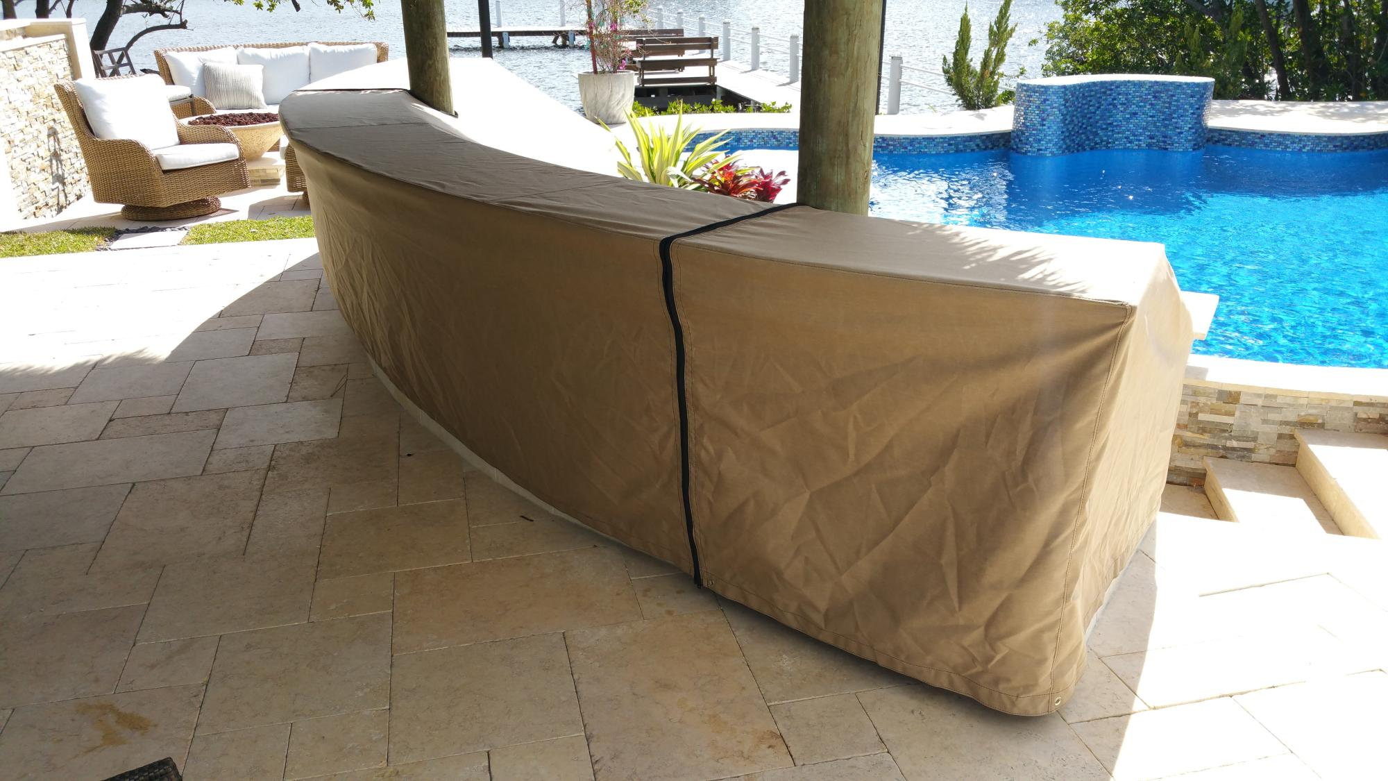 outdoor kitchen covers